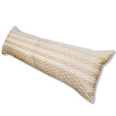 《J&N》波紋長型抱枕1入