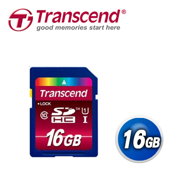 Transcend創見 16GB UHS-I 600X SDHC 記憶卡