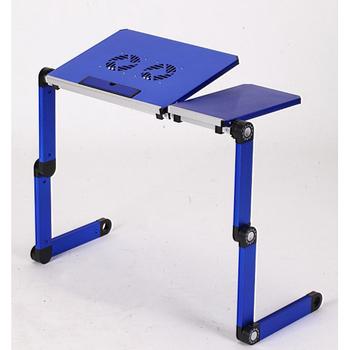 ★結帳現折★C&B 多巧折鋁合金散熱折疊電腦桌(活力藍)