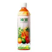 《波蜜》果菜汁(580ml*4瓶/組)