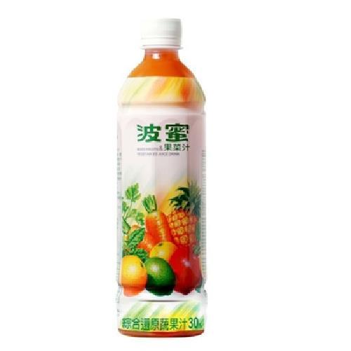 波蜜 果菜汁(580ml*4瓶/組)