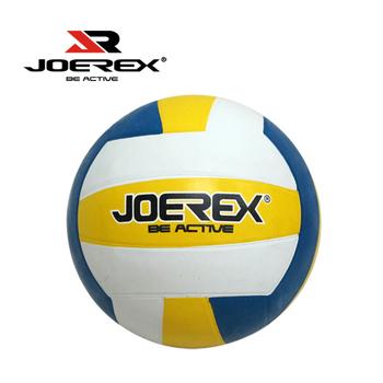 艾可兒 日本品牌【JOEREX】標準5號三色橡膠排球JRX19-2入1組