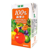 《波蜜》100%蔬果汁(160ml*6包/組)