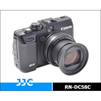 JJC 佳能CANON鏡頭轉接環/鏡頭接環/鏡頭轉接器(RN-DC58C,相容CANON原廠FA-DC58C)