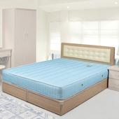 《Homelike》艾凡床組-6尺雙人加大(白橡木紋)