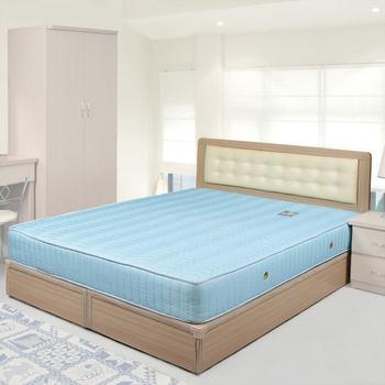 《Homelike》艾凡床組-5尺雙人(白橡木紋)