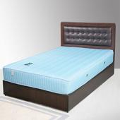 《Homelike》艾凡床組-3.5尺單人(胡桃木紋)