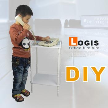 《logis》典雅白色玄關櫃(白色)