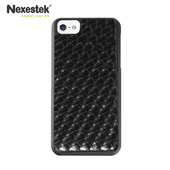 《Nexestek》Nexestek iPhone 5/5S/SE類皮革編織款手機保護殼(質感黑色)