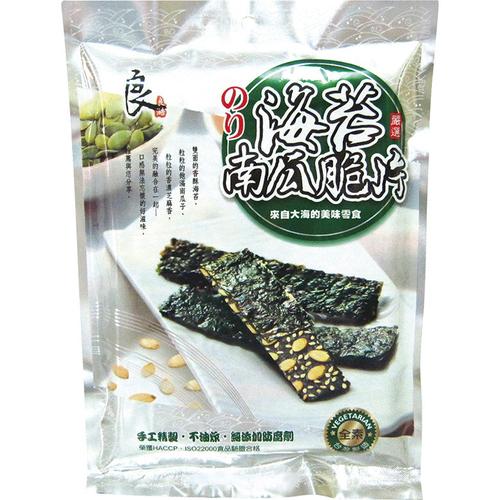 良澔 海苔南瓜脆片(40公克/包)