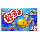《好麗友》好多魚餅乾-海苔口味(90公克/盒)