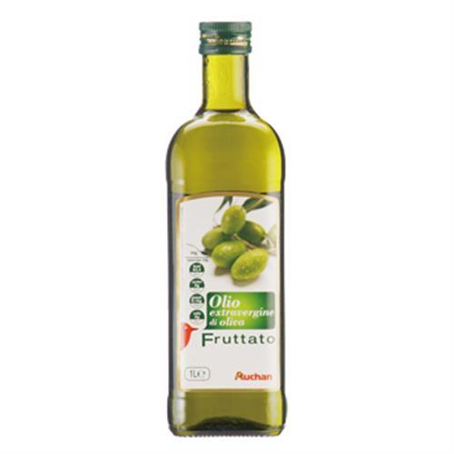 《Auchan》義大利頂級果香橄欖油(1L/瓶)
