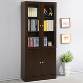 《Homelike》幸福2.7尺四門書櫃