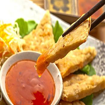 禎祥食品 泰式月亮蝦餅(共1包4片)