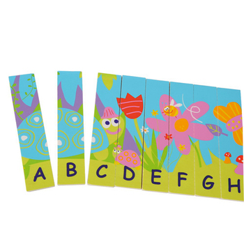 Boikido 雙面字母拼圖 Double Sided Alphabet Puzzle