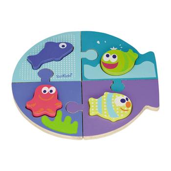 Boikido 海洋動物拼圖 Double Puzzle Sea