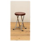 《C&B》新巧易收軟座折合椅凳(二入)(醇咖啡)