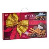 《盛香珍》歐式午茶餅乾禮盒(580g/盒)