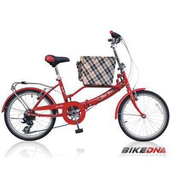 《BIKEDNA》JY21 PET SHIMANO 21速 多功能寵物車(法拉利紅)