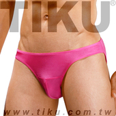 《TIKU 梯酷》桃花紅 超彈貼身三角男內褲 (PP1692)(L腰圍29-32吋)