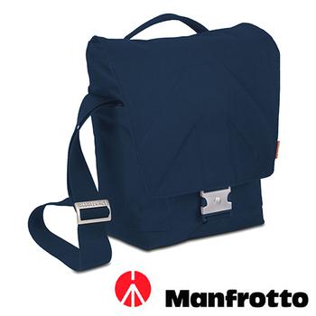 Manfrotto 曼富圖 ALLEGRA 10 輕巧系列郵差包(MB SV-M-10BI 藍)