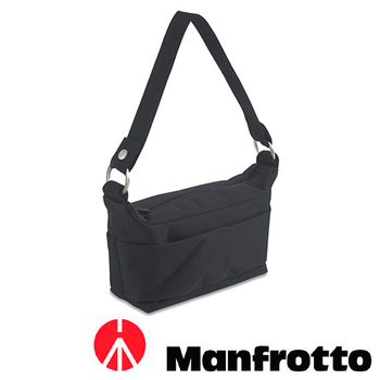 Manfrotto 曼富圖 AMICA 25 米卡系列女用肩背包(MB SV-SBW-25BB 黑)
