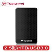 《Transcend 創見》25A3 1TB 2.5吋行動硬碟(TS1TSJ25A3K)