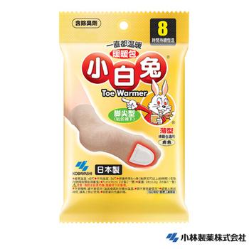 日本小林製藥 小白兔腳尖型暖暖貼-15雙入