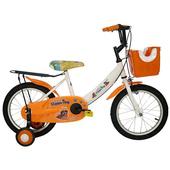 《Adagio》16吋酷樂狗打氣胎童車附置物籃(橘色)