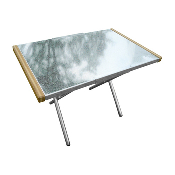 Outdoorbase 小金鋼-不鏽鋼折合桌