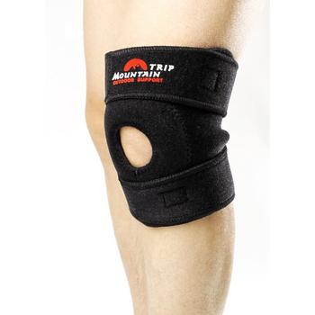 山行 魔鬼粘黏式護膝(一般型(2+1固定式),單支)