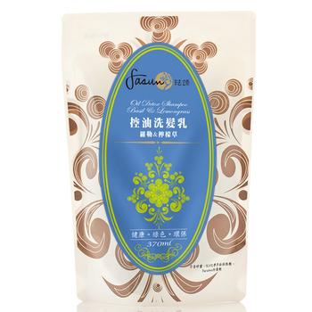 琺頌 FASUN 控油洗髮乳(補充包)-羅勒檸檬草(370ml)