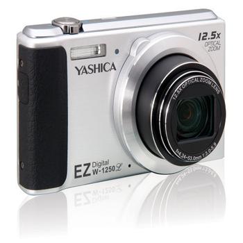YASHICA EZW-1250L 類單眼12.5倍變焦 24mm廣角鏡頭1600萬像素 數位相機(公司貨)加贈8G卡(銀色)