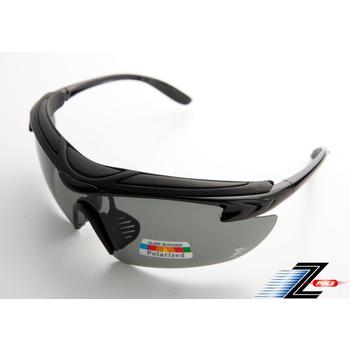 ★結帳現折★Z-POLS 悍將帥氣功能款烤漆質感黑 舒適頭墊 寶麗來帥氣偏光 強抗UV運動眼鏡!