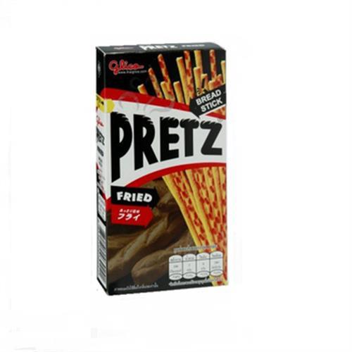 Glico PRETZ餅乾棒-焦鹽口味(39公克/盒)