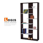 《LOGIS》層疊收納展示櫃(胡桃色)