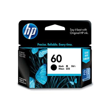 《HP》NO.60 原廠黑色墨水匣(CC640WA)