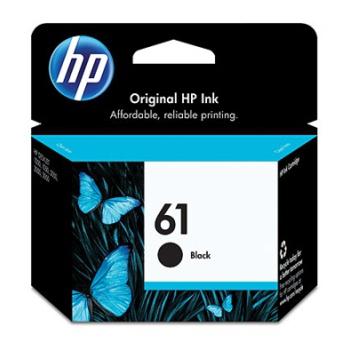 HP NO.61 原廠黑色墨水匣(CH561WA)