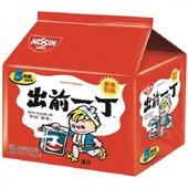 《日清》出前一丁-麻油湯拉麵(100g*5包/組)
