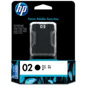 《HP》NO.02 黑色墨水匣(C8721WA)