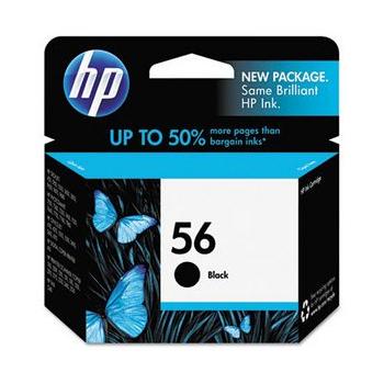 HP NO.56 原廠黑色墨水匣(C6656A)