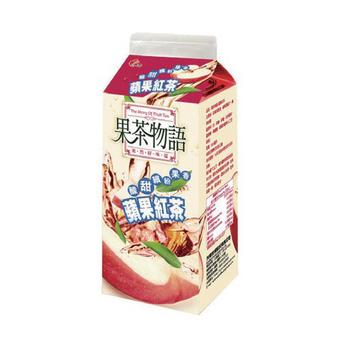 光泉 果茶物語 - 蘋果紅茶(650ml/瓶)