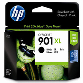 《HP》No.901XL Officejet 黑色墨水匣(CC654AA)
