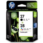 《HP》NO.27+NO.28墨水匣組合包 (CC628AA)