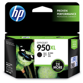 《HP》950XL 原廠黑色墨水匣(CN045AA)