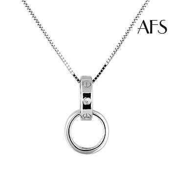 AFS 法式時尚質感純銀項鍊(個)