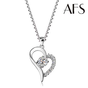 AFS 璀燦極致真心晶鑽項鍊(個)