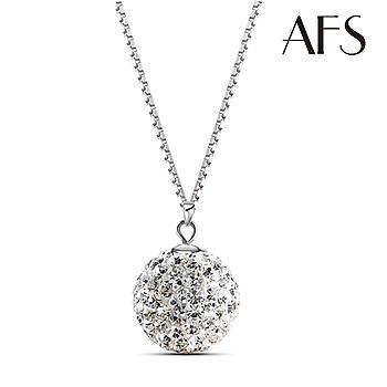 AFS 耀眼女神純銀晶鑽項鍊(個)