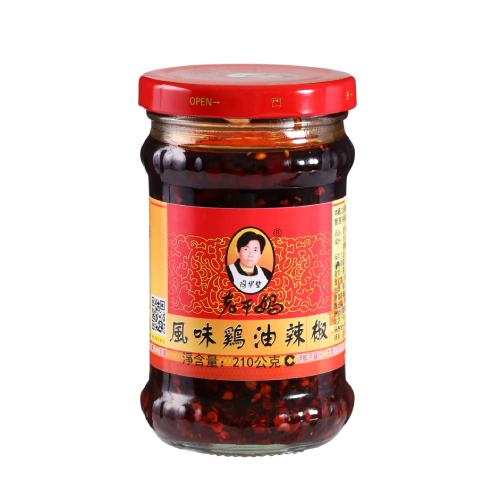 老干媽 風味雞油辣椒(210g/瓶)