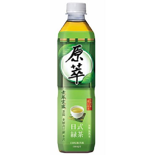 原萃 日式綠茶(580ml*4瓶/組)